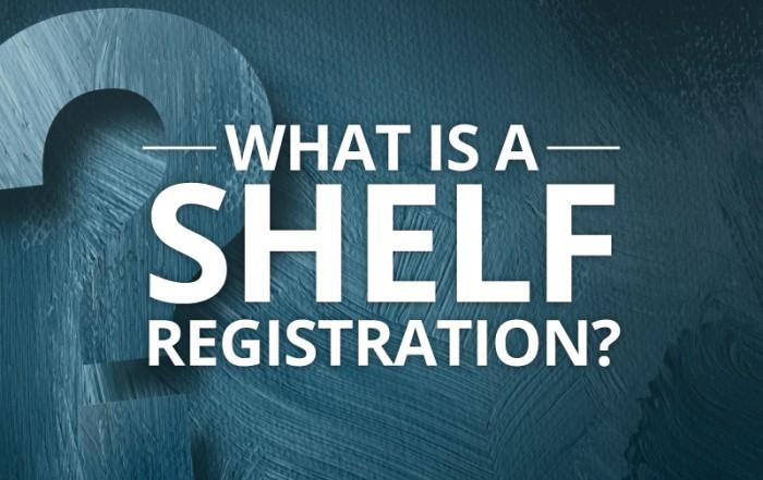 What is a Shelf Registration