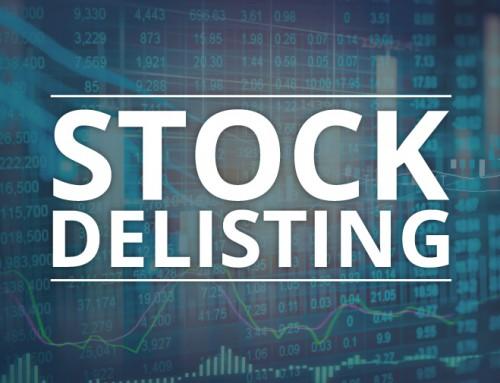 Stock Delisting