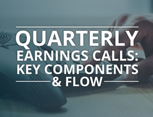 Quarterly Earnings Calls: Key Components and Flow