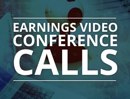 Earnings Video Conference Calls