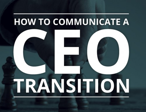 How To Communicate A CEO Transition