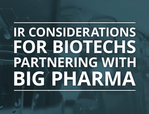 Investor Relations Considerations for Biotechs Partnering with Big Pharma