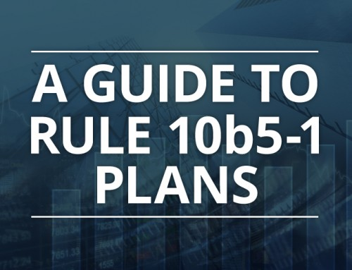 A Guide to Rule 10b5-1 Plans
