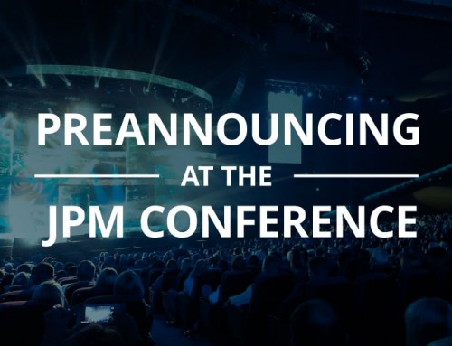 Preannouncing At The JPM Conference