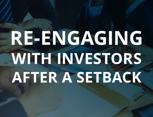 Re-engaging with Investors After a Setback